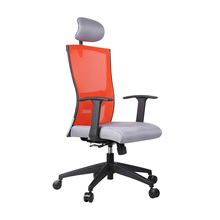 Air Mesh Malaysia Plastic Fixed Armrest Office Executive Mesh Chair