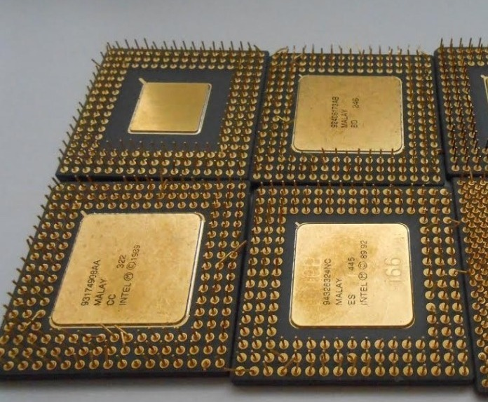 PENTIUM PRO GOLD CERAMIC CPU SCRAP HIGH GRADE CPU SCRAP, COMPUTERS CPUS / PROCESSORS/ CHIPS GOLD RECOVERY AVAILABLE FOR SALE