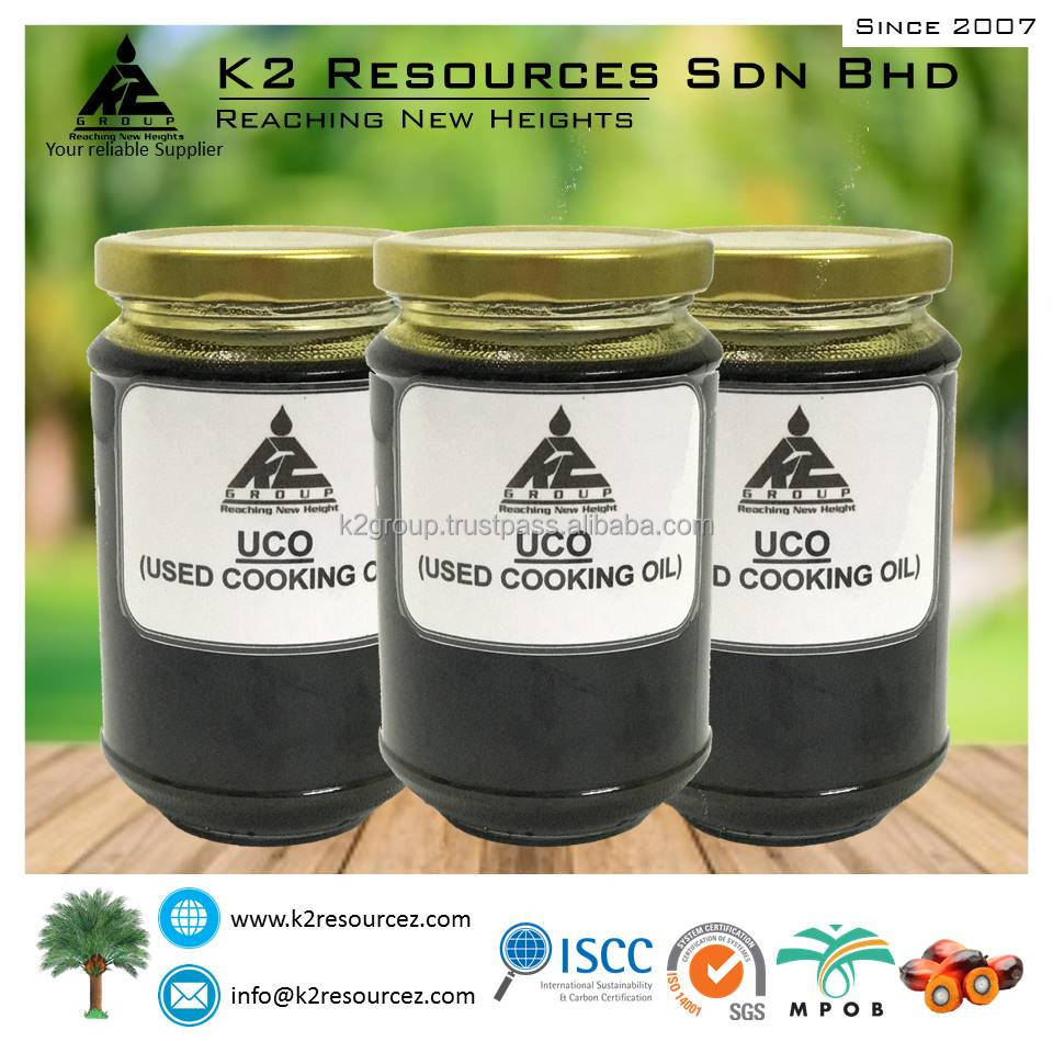 Used Cooking Oil (UCO) / Used Vegetable Oil (UVO) FFA 10%