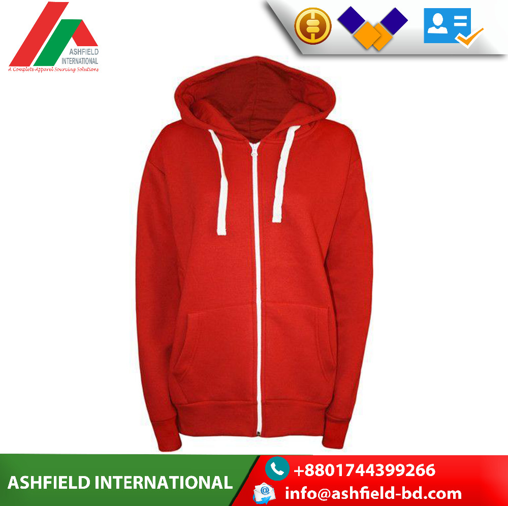 Custom new style design zipper fashionable embroidery logo hoodies for men