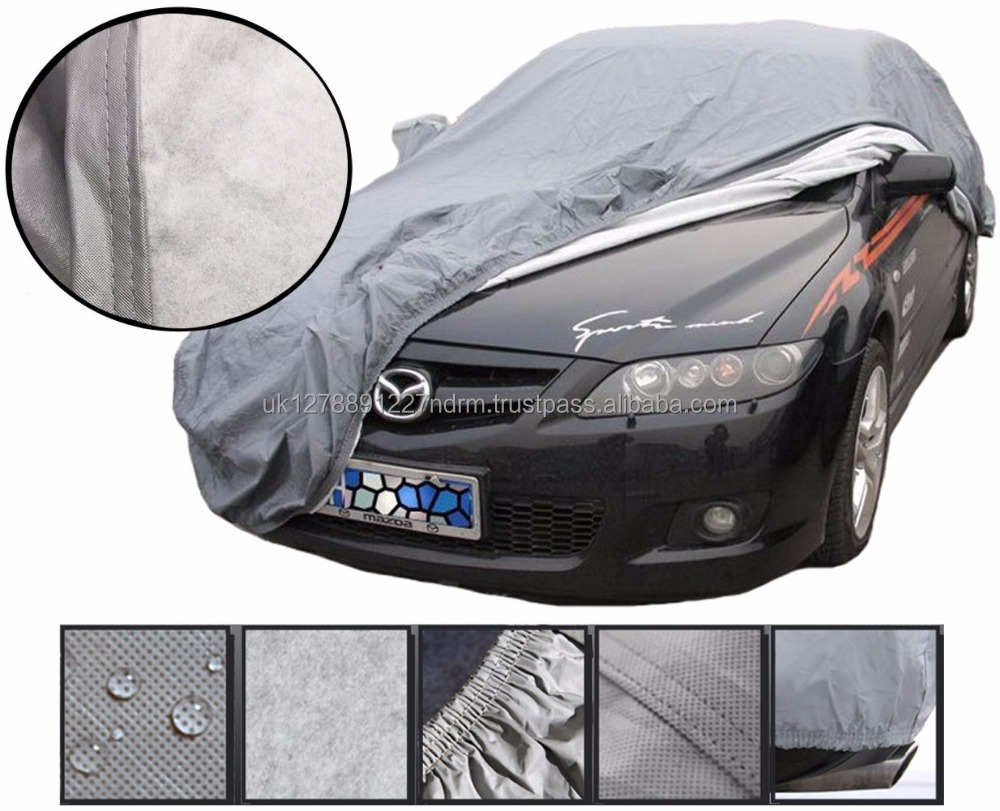 Waterproof Heavy Duty 2 Layer Full Car Cover Breathable UV Protect Indoor Outdoor - UK Stock Fast Shipping