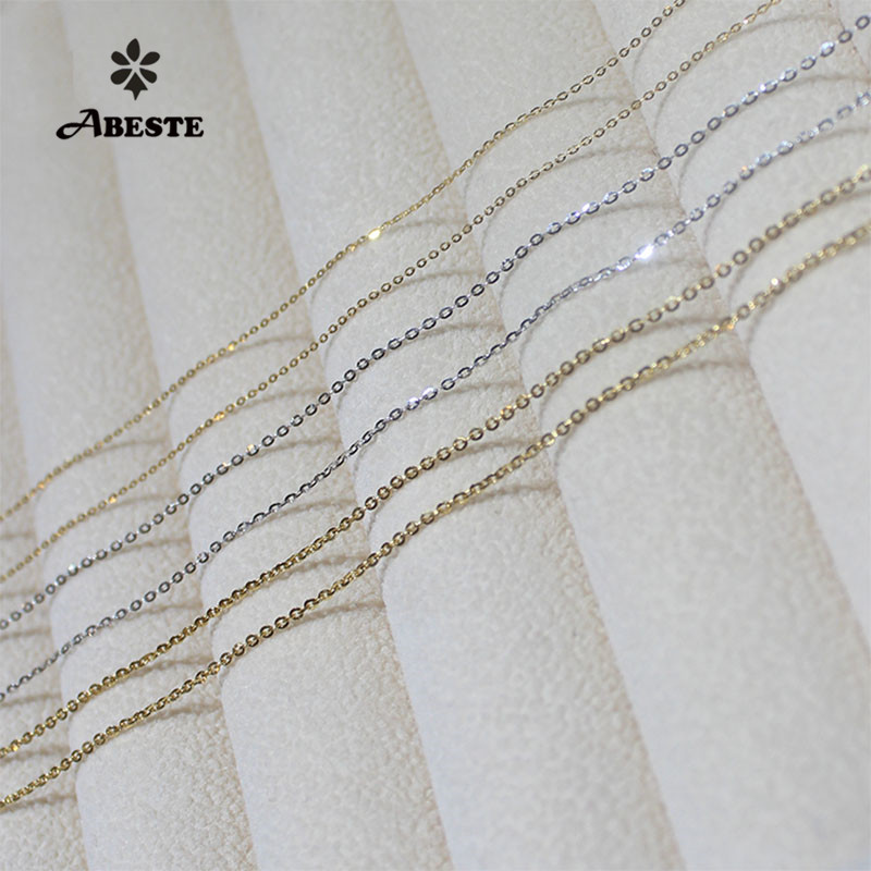 ABESTE Wholesale Fashion Jewelry 925 Silver O Chains Classic Style