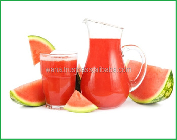 Natural And Fresh Watermelon Puree