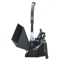 WOOD CHIPPER SKID STEER ATTACHMENT