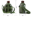 MK-CA-001 high quality military kettle for outdoor movement