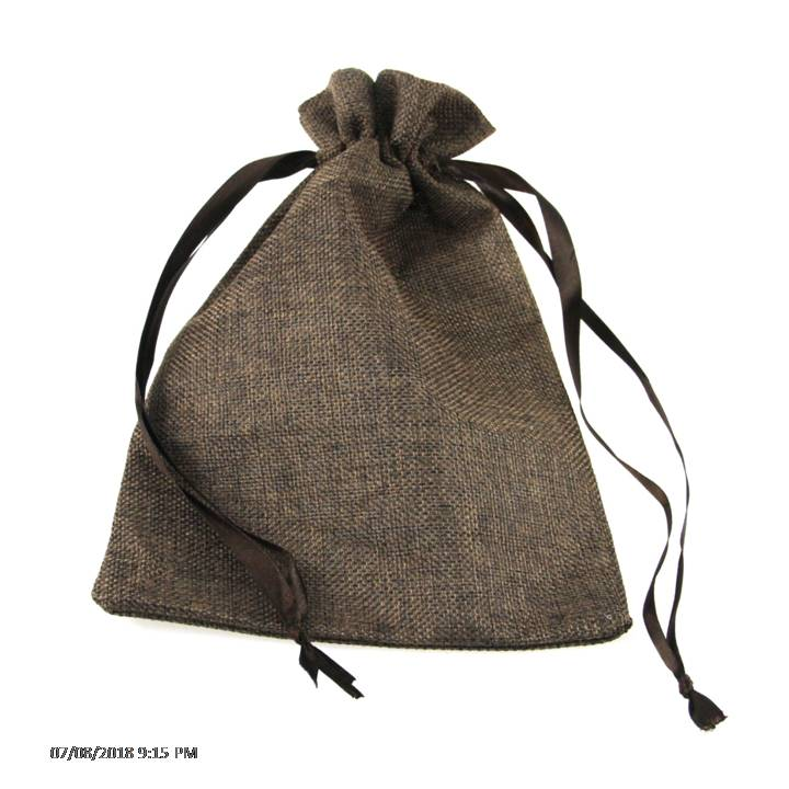 Eco Friendly Personalized Custom Prints Drawstring Hemp Gift <strong>Bags</strong>