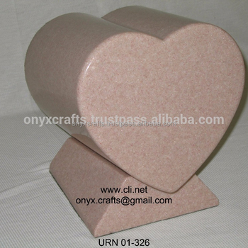 Verona Heart Shape Cremation Urns ( One Piece)
