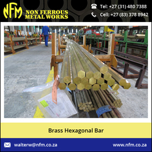 Semi-smooth Free Cutting Brass Hexagonal Bar