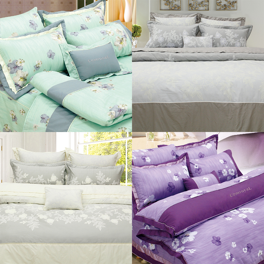 Patchwork patterned bedding set modern embroidery design bed sheet