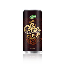 250ml Canned Coffee Drink-VietNam Manufacturer-OEM Fruit Juice-From Trobico Brand