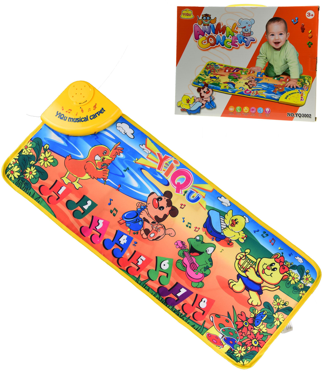 Baby Musical Playmat Carpet Animal Sound Piano Keyboards Farm Music Packing