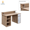 Wholesale Modern Office Desk with Chrome Handle