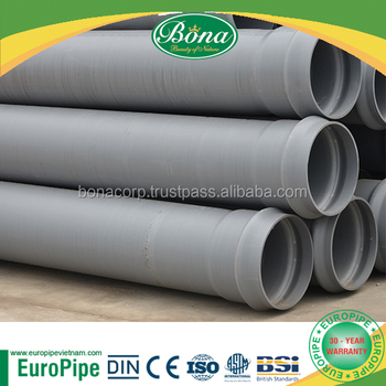 UPVC pipe 110mm, 200mm, 350mm, 500mm european standard