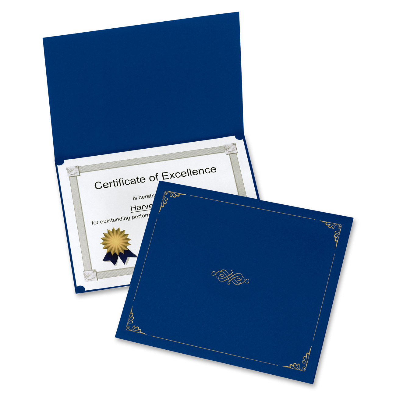 Diploma Certificate Holder Cover Leather Certificate Of Appreciation Holder PU Leather
