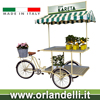 Kareta display cargo tricycle for vending flowers