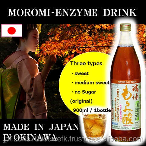 Best-selling Moromi enzyme drink good for after boat racing, made in Japan, ISO 9001 certified