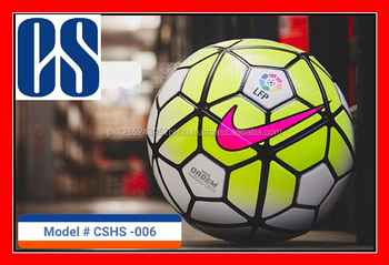 synthetic leather Best Quality customized Rubber Bladder Soccer Ball nike premier-league the good ball