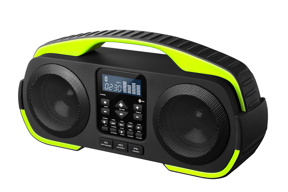 Waterproof Wireless Rechargeable Boombox OM-18038