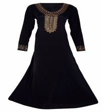 2017 Golden Diamond Stone Work Casual Wear Abaya Burkha / Latest Islamic Wear Burqa Collections (dubai abaya2017)