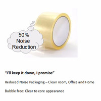 Malaysia Low Noise Water Based Bopp Adhesive Carton Sealing Packing Tape