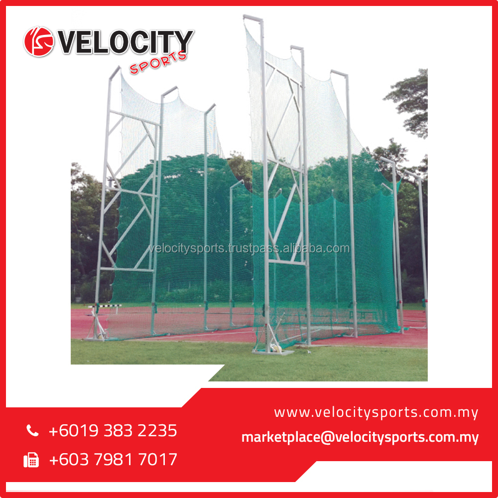 Velocity Sports Most Popular Aluminium Discus and Hammer Cage 7/10m (Competition Cage)