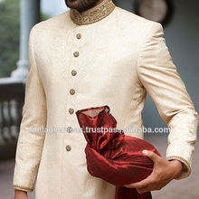 인도 볼리우드 인도 Western Men's Sherwani wedding dress Jacket Blazer Bridal 착용