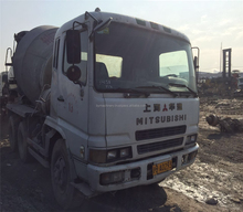 8m3 used concrete cement mixer truck for sale