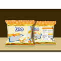 Best selling biscuit Lipo cream egg cookies 200g butter flavor