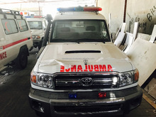 Toyota Land Cruiser Hardtop 4wd Ambulance