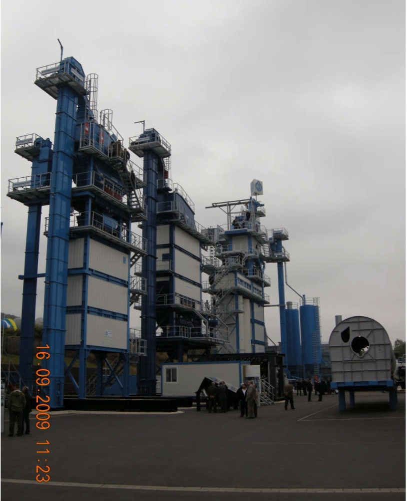 Stationary asphalt mixing plant TBA-200-K/U- Available in French!