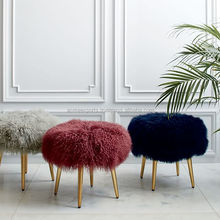 Mongolian LambsWool Stool to Decorate your Room