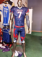 College full sublimation team custom made american football jersey uniforms