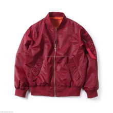 Custom manufactures nylon bomber jackets/ men manufactures varsity bomber jackets/ letterman made bomber jackets unisex