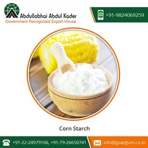 Tasty and Healthy Best Quality Corn Starch Powder at Competitive Price