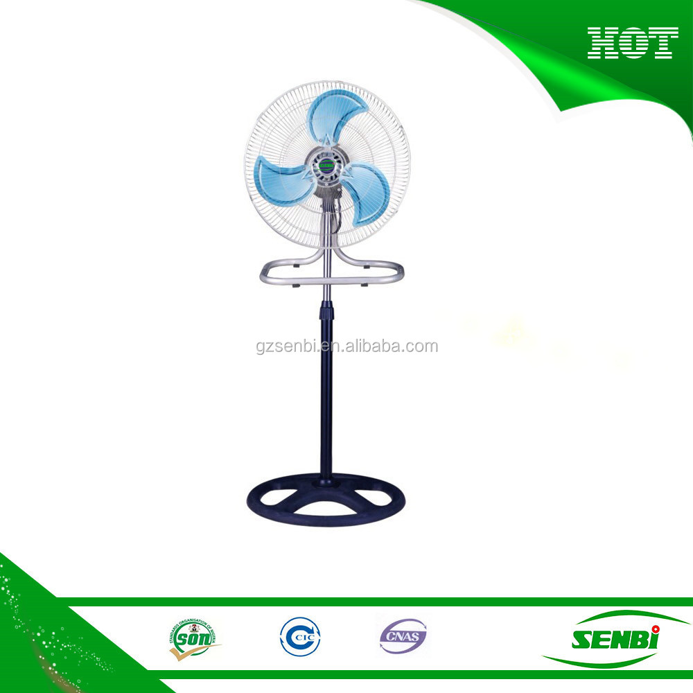 dc electrical appliances cooling material domestic stand fan with 12v motor