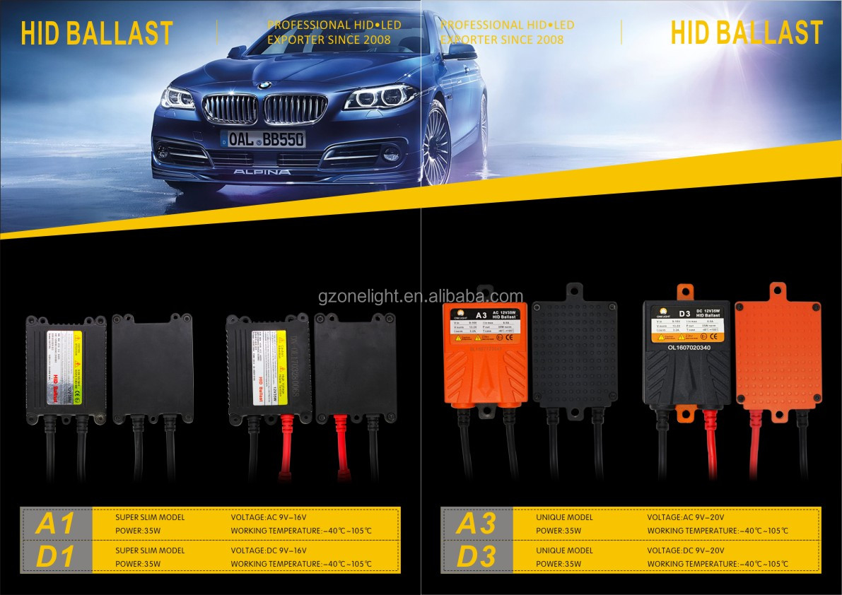 Fast Start F-ST5 Quick Bright AC 35W D2S HID Xenon