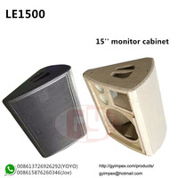 15'' floor monitor emtpy cabinet,LE1500 speaker box
