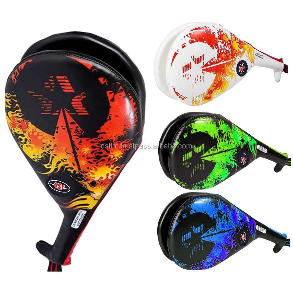 Custom Sublimation Design with High Quality Material Taekwondo Rackets