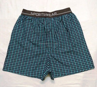 Woven Plaid boxer shorts Wholesale wholesale cotton men woven boxer shorts comfortable cotton & linen boxers mens boxer