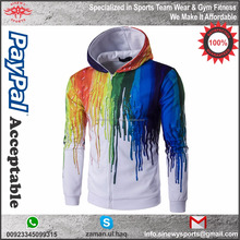 100% polyester sublimation hoodies/high quality sublimation polyester fleece hoodies