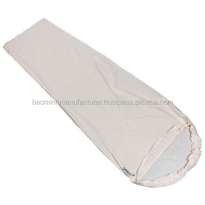 High quality sleeping bag liner from VietNam