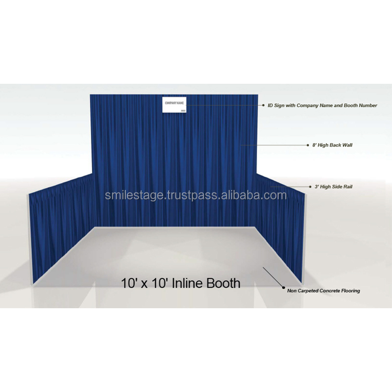 10x10ft line booth Automatic photo booth indian wedding backdrops Pipe And Drape
