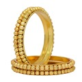 Gold Plated Bangle Set Of 4 Jewellery For Girls & Womens