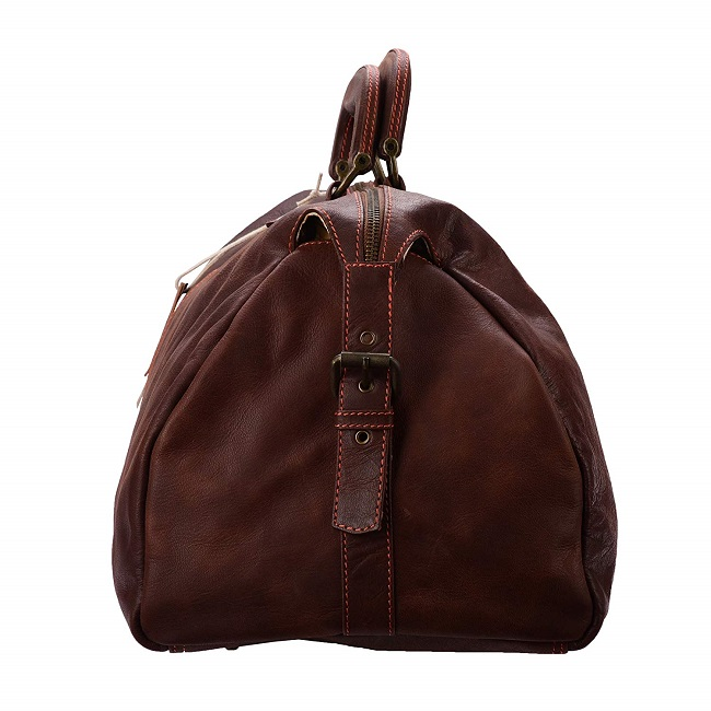 Pure soft leather best duffle bags at low price