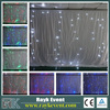 Fiber optic lighting curtain led backdrop curtain fairy lights curtain led