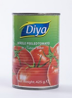 Canned Whole Peeled Tomato in Natural Juice