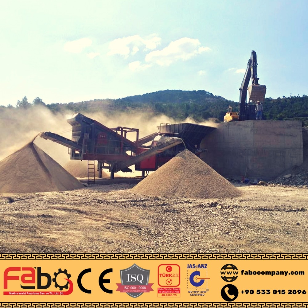 Mobile stone crusher /construction equipment by Turkey manufacturer, mini mobile crusher