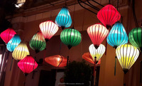 Vietnam silk lanterns for wedding decoration - Outdoor lanterns