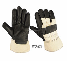 Cow Grain Leather Working Gloves with Full Palm Grain working gloves 707