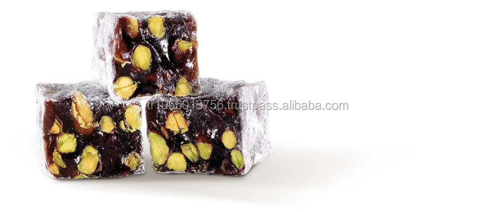 BEST SALE DOUBLE ROASTED TURKISH DELIGHT WITH TURKISH COFFEE AND PISTACHIO 250 GR